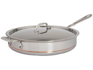 All Clad copper core saute pan