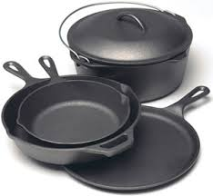 Cast iron cookware is popular again!