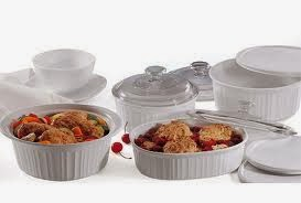 CorningWare bakeware - NOT stovetop safe!!