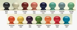 Fiesta dinnerware color options