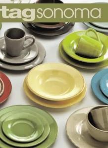 Tag Sonoma dinnerware