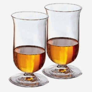 Riedel single malt whiskey glasses