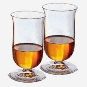 Riedel single malt whiskey glasses