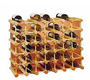 J.K. Adams wine rack