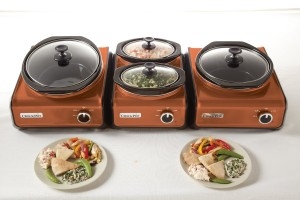 Crock-Pot Hook Up series buffet servers - you can mix and match the pieces you want to hook to each other!