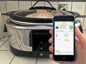 Crock-Pot with WeMo (smart slow cooker!)